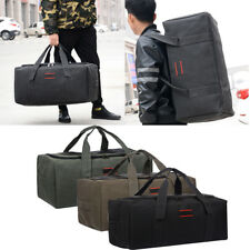 Male Men Luggage Leather Travel Outdoor Shoulder Bags Duffle Gym Bags Tote Bag