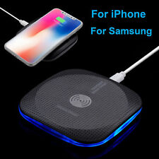 For Samsung Galaxy S8 Plus Note 8 QI Wireless Fast Charger Charging Pad Mat New