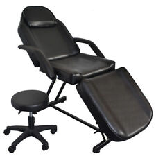 Beauty Massage Bed Facial Tattoo With Stool Salon Equipment Chair Barber Chair