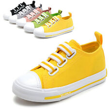 Kids Girls Casual Canvas Shoes Children Boys Running Sneakers Breathable Fashion