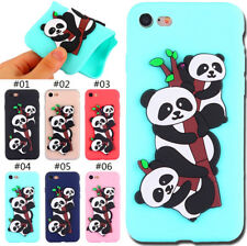 Protective Cover Silicone TPU 3D Panda Soft Back Skin Case For Apple iPhone 7/8