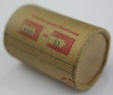 SILVER DOLLAR ROLL $20 MORGAN PEACE DOLLAR MIXED DATES COVERED END COINS