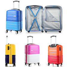 "20"" Luggage Spinner Wheels Trolley Suitcase TSA Lock Travel Carry On 4 Colors"