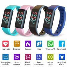 Fitness Tracker Smart Bracelet Wristband Waterproof Pedometer Activity Monitor A