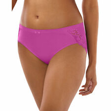 Bali Lace Desire Cotton Hipster Panty - Hanes