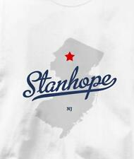 Stanhope, New Jersey NJ MAP Souvenir T Shirt All Sizes & Colors