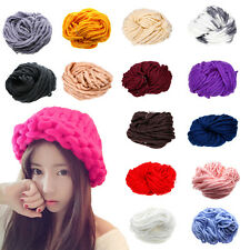 Hot Sale DIY Fun Super soft Thick Bulky Chunky Worsted Hand Knitting Yarn New