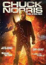Chuck Norris Total Attack Pack Delta Force (4-Disc Set) - DVD LIKE NEW free S&H?
