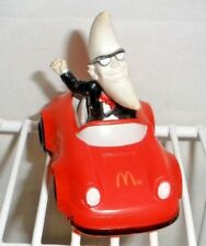 1988 McDonald's Moon Man Mac Tonight #2 in Red Hot Rod/Sports Car Happy Meal Toy