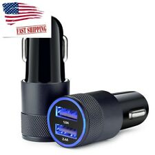 2 Pack Car Charger 3.4A Dual USB Port Rapid Car Charger Adapter for Smartphones