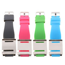 Adjustable Silicone Multi-Touch Watch Band Wrist Strap For iPod Nano 6 6th