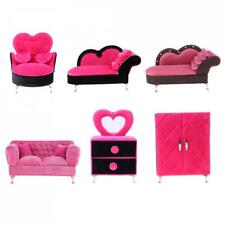 1/6 European Sofa Couch Furniture Model for 12'' Action Figure Barbie Doll House
