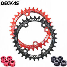 DECKAS 96mmBCD MTB Chain Ring Narrow Wide Round Oval Chainring 32/34/36/38T