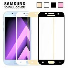 For Samsung Galaxy J3 J5 J7 A3 A5 9H Full Cover Tempered Glass Screen Protector