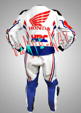HONDA HRC MOTORCYCLE RIDING MOTO GP MOTORBIKE RACING LEATHER SUIT