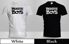 New Beastie Boys License to Ill Get Off My D T-Shirt Mens Black&White Shirt 4