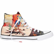 Converse CT All Star Hi Looney Tunes Black Red White Youth Canvas Trainers