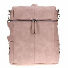 Simple Style Women PU Leather Backpacks For Teenage Girls School Bags Fashion Vi