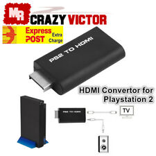 PS2 to HDMI Video Converter Composite AV to HDMI PlayStation 2 HD Adapter