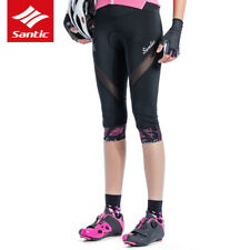 SANTIC Women Spring Summer Breathable Cycling Shorts Knickers with 4D Paded