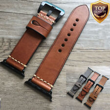 38 42mm Genuine Leather Retro Band Strap For Apple Watch iWatch Series 1 2 3