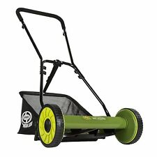 Sun Joe Mow Joe Manual Reel Mower with Grass Catcher