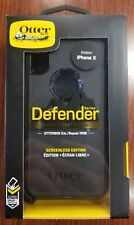 Authentic OtterBox DEFENDER SERIES Case for iPhone X (ONLY) - Retail Packaging