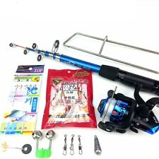 Lure Rod Carbon Deep Sea Saltwater Fishing Rod Portable Foldable Travel New