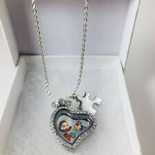 Personalized Autism Awareness Charm Necklace