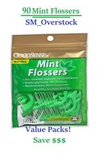 Mint DENTAL FLOSSERS with Pick by GoodSense - Value packs 90ct per pack!!