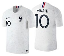 NIKE KYLIAN MBAPPE FRANCE VAPOR MATCH AUTHENTIC AWAY JERSEY WORLD CUP 2018.