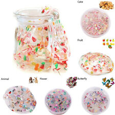 NEW 40g Clear Crystal KAWAII Slime Cute Fruit Salad Fimo Putty Kids Gag Gift Toy