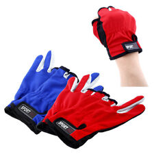 1 Pair ANTI-SLIP 3 Low Fingers Fishing Gloves Fish Clothing Sport Skidproof