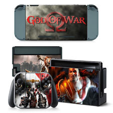 God of War PVC Protective Decal Skin Sticker For Nintendo Switch Console NS