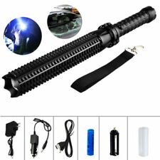 10000LM Zoomable LED 18650 Tactical Police Flashlight Torch Lamp Light Lantern