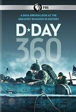 D-Day 360 (DVD, 2014) PBS   Greatest invasion in History  BRAND NEW