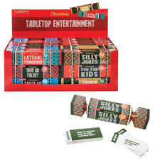 Tabletop Xmas Entertainment - Festive Christmas Cracker Games **FREE DELIVERY**