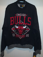 CHICAGO BULLS Game Day Crewneck Sweatshirt - BULLS Crewneck Fleece Sweatshirt