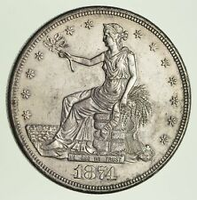 1874-CC Trade Silver Dollar - Not Circulated *1810