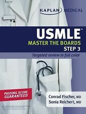 Master the Boards Ser.: Kaplan Medical USMLE Master the Boards Step 3 by Conrad…