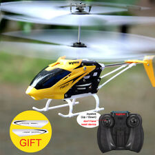 Syma Official W25 RC Helicopter 2 CH 2 Channel Mini RC Drone With Gyro Crash
