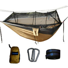 Portable Hammock Parachute Mosquito Net Hanging Bed Outdoor Camping Hunting Bed