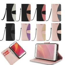 Flip PU Leather Lace Edge Wallet Case For Xiaomi Mi A1 Redmi Y1 5A 4A Note 4 4X