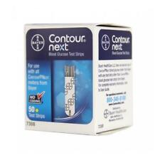 5 Boxes Bayer Contour Next Blood Glucose Test Strips Box of 50