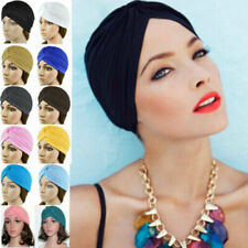 Indian Style Unisex Slouch Hat Cap Stretchable Turban Hair Head Wrap Headwrap #A