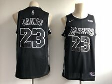 Los Angeles Lakers 23 Lebron James Black Basketball Jersey Special Edition S-XXL