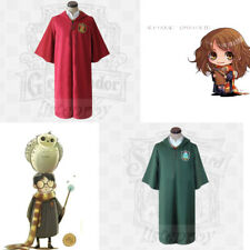 Harri Potter Robe Adult Clothing Cape Cloak Gryffindor Cosplay Costumes Day Gift
