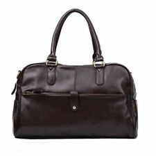 Men's Hot Fashion Casual Faux Leather Handbag Shoulder Bag Duffel Tote Bags