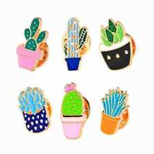 Cactus Pins Brooches Enamel dress Jewelry Badge Colorful Pin Broches Men&Women