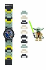 LEGO Star Wars 8020295 Yoda Kids Buildable Watch with Link Bracelet and Minifigu